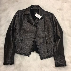 Banana Republic blazer (metallic)